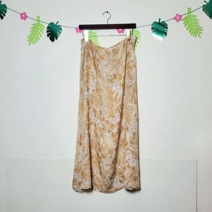 Kate Hill Silk Midi Skirt